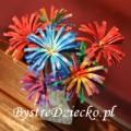 DIY kwiaty z rolki po papierze toaletowym - kwiaty z papieru jako prace plastyczne dla dzieci