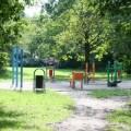 Siłownia w Parku Grabiszyńskim we Wrocławiu