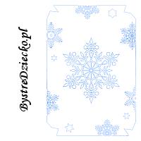 Płatki śniegu - kolorowanki zimowe