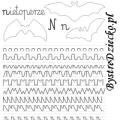 Nauka pisania literek i szlaczki dla dzieci
