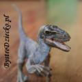 Figurki Schleich - figurki dinozaurów, tu welociraptor