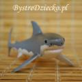 Figurki Schleich - figurki zwierząt, tu żarłacz biały