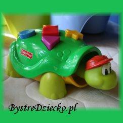 Żółw Tuptuś - zabawki edukacyjne Fisher Price