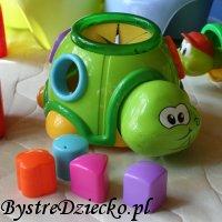Żółw sorter - zabawki edukacyjne dla dzieci