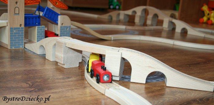 Kolejka drewniana Ikea