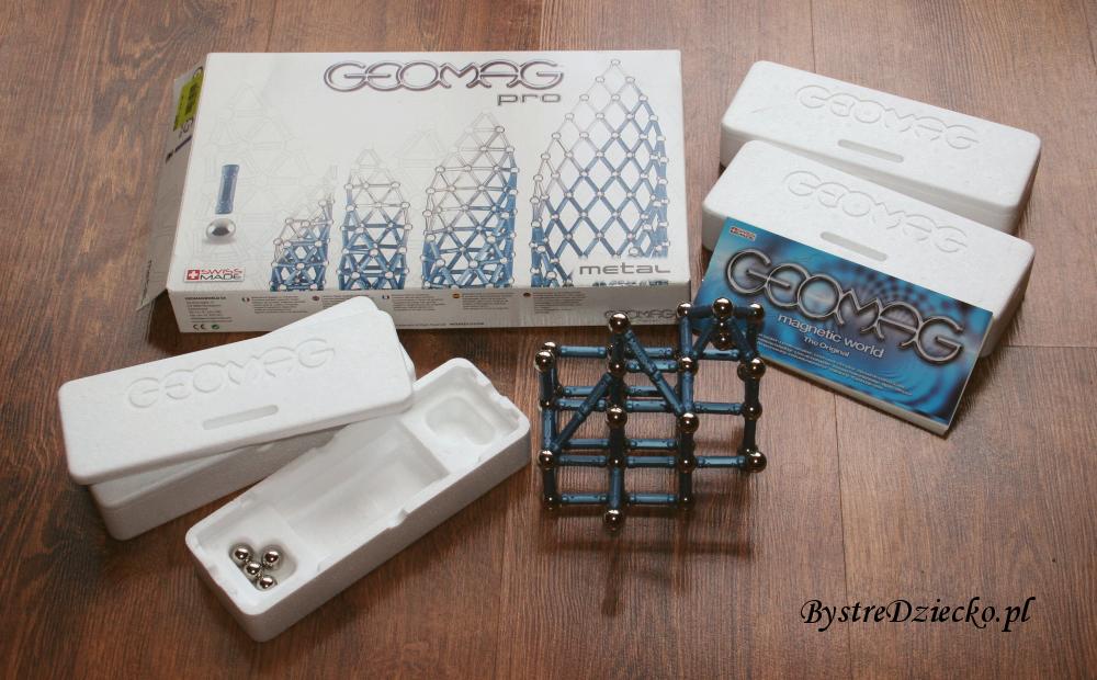 Klocki magnetyczne dla dzieci Geomag Pro - pobudzamy kreatywność i ćwiczymy motorykę u dzieci