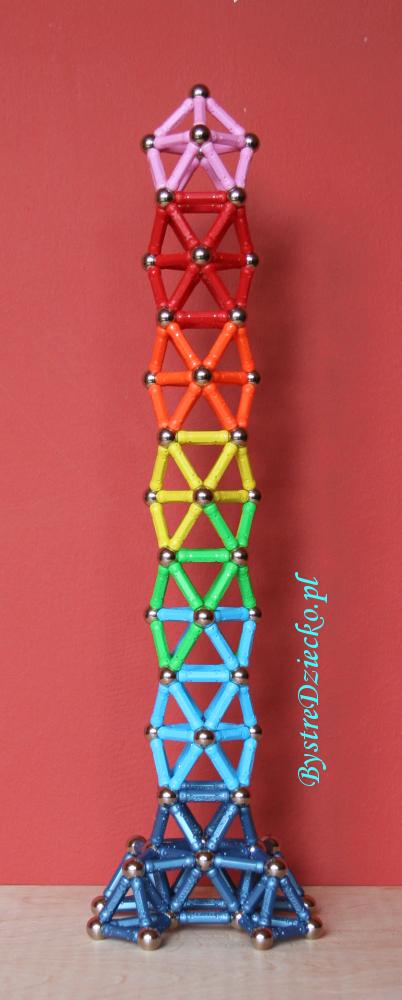 Klocki magnetyczne dla dzieci jako pomoce dydaktyczne w czasie zabaw edukacyjnych dla dzieci