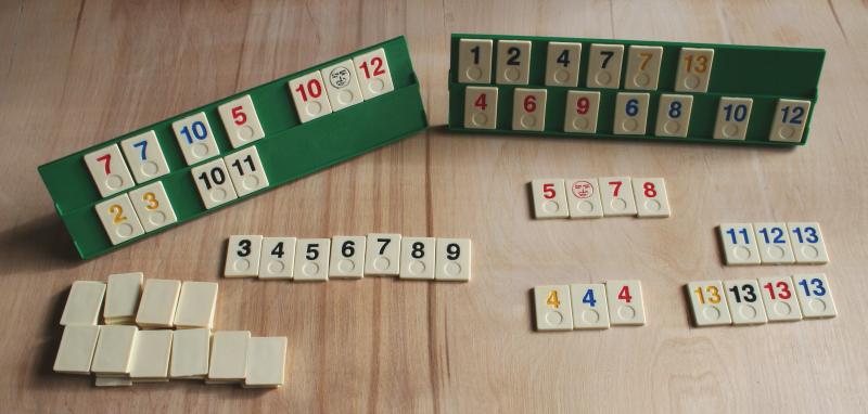 Gra logiczna i strategiczna dla dzieci Rummy