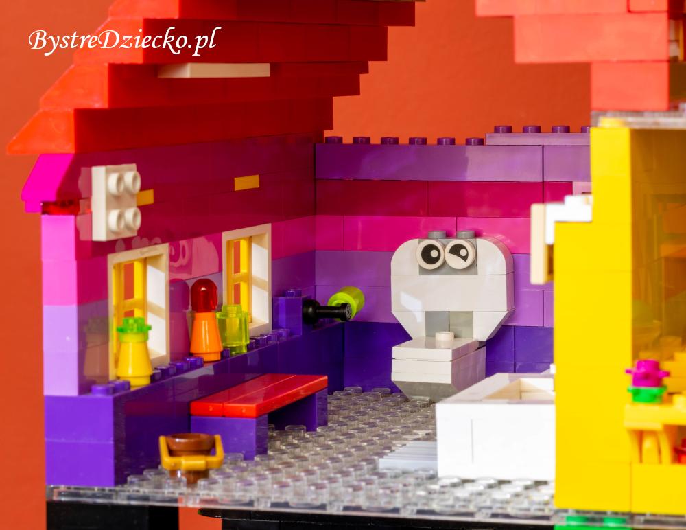 Łazienka - Dom LEGO - niesamowite pomysły na klocki LEGO