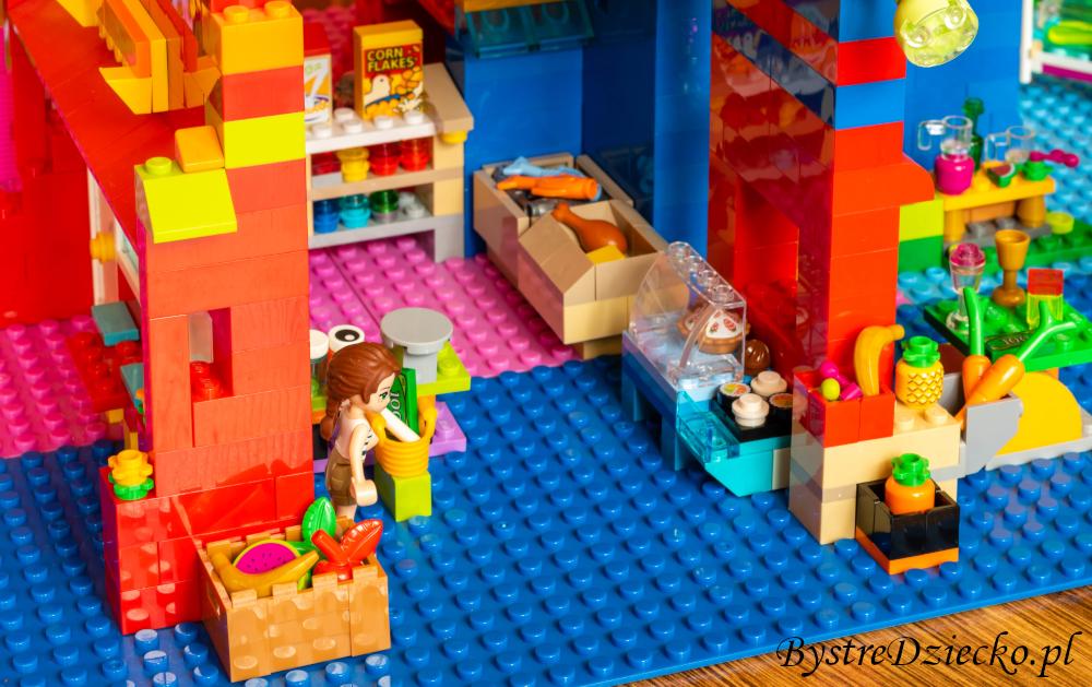 Sklep spożywczy lub mini market - Dom LEGO - niesamowite pomysły na klocki LEGO