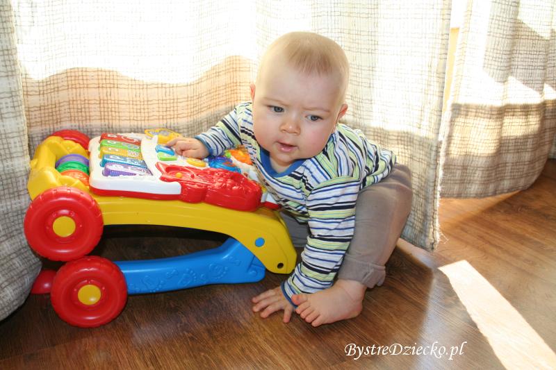 Chodzik pchacz VTECH i zabawki interaktywne dla dzieci