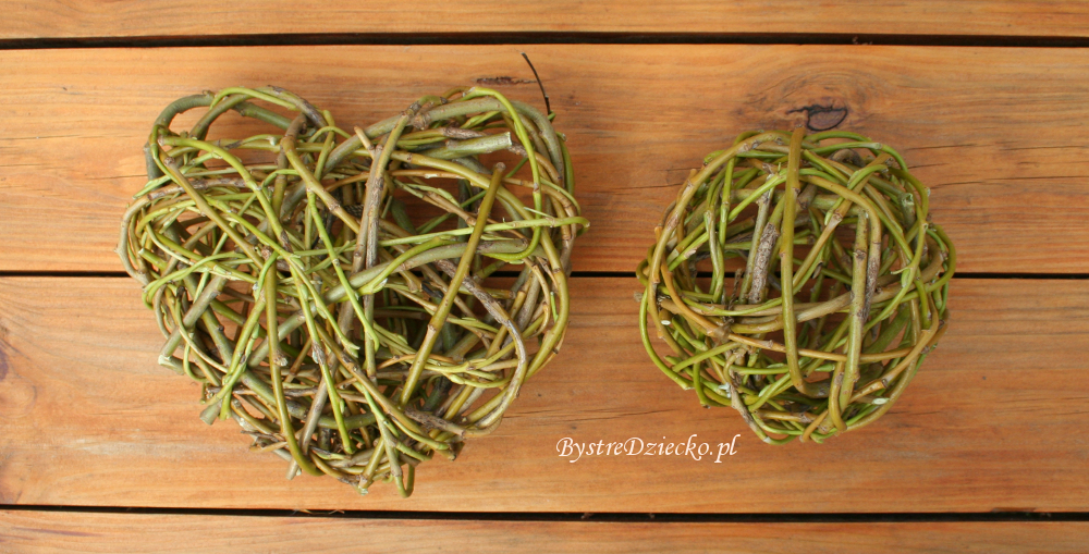 Willow decorative balls, wicker balls as DIY decoration