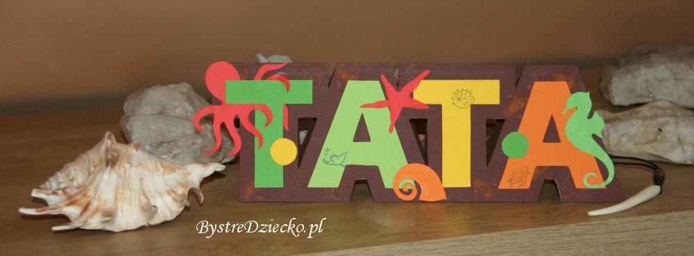 Laurka dla Taty do wydrukowania - prezent na Dzień Ojca przygotowany przez dzieci