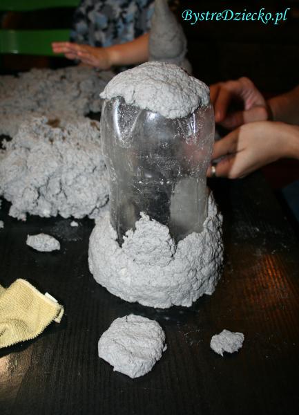 Zajęcia plastyczne dla dzieci - Papier Mache przepis