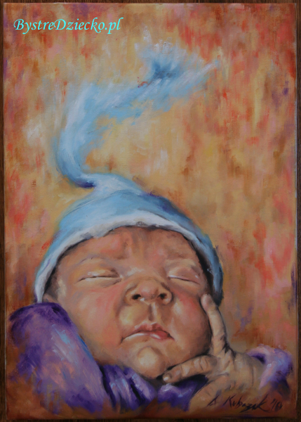 Portret dziecka jako prezent