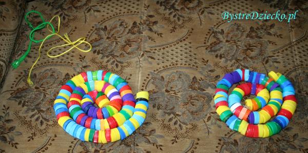 Zajęcia plastyczne dla dzieci z domowego recyklingu tworzyw sztucznych