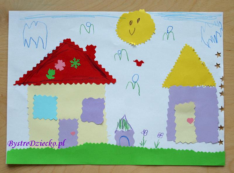 Kreatywne wycinanki: papier kolorowy i nożyczki ozdobne w ramach zajęć plastycznych dla dzieci