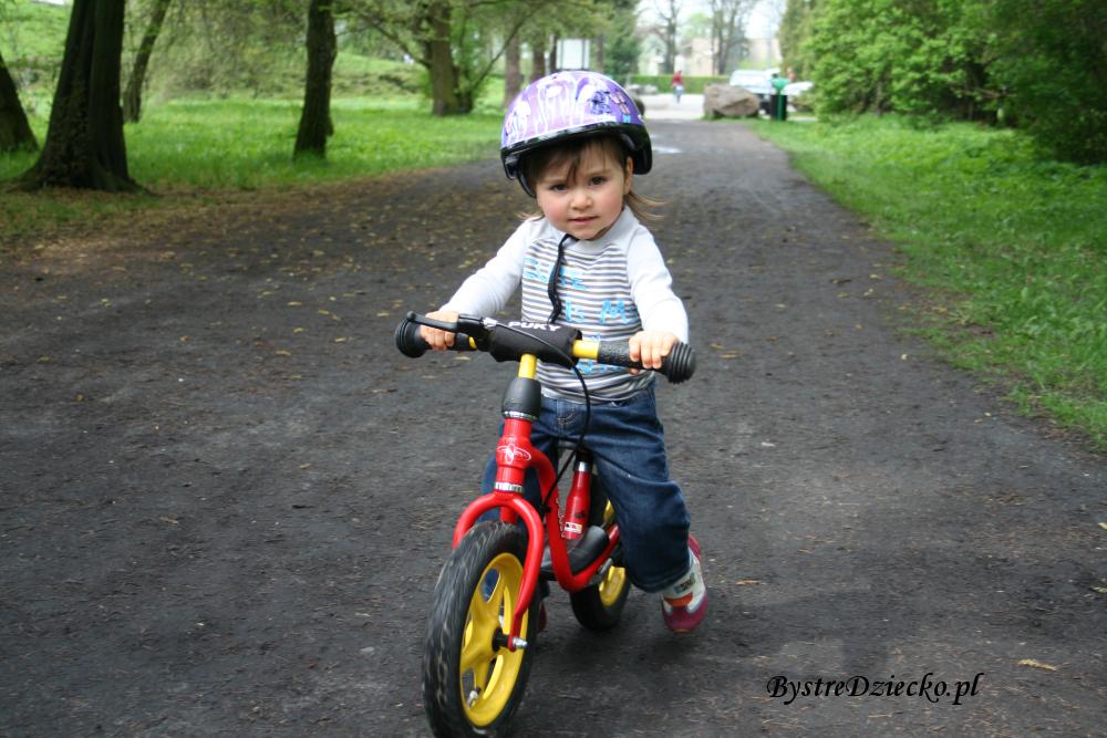 Rowerek biegowy Puky dla dzieci - zabawy ruchowe dla dzieci na świeżym powietrzu